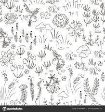 シームレスな北欧花柄 ストックベクター Toltemara 140234860