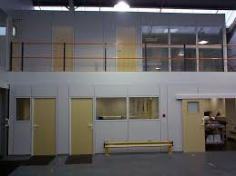 mezzanine office. office mezzanine and walk way installed by cubex contracts northants