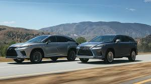 Lexus Suv Size Chart 2020 Lexus Rx Gains New F Sport Performance Package Slashgear