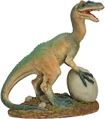 Chomp squad playskool raptor compactor, raptor dinosaur figure with trash compactor accessory, garbage truck toy for kids 3 years and up (amazon exclusive). Amazon Com Design Toscano Jq6619 The Egg Beater Raptor Dinosaur Statue Full Color Garden Outdoor