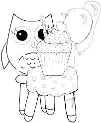 Printable Owl Coloring Pages Printable Owl Coloring Pages Top Free