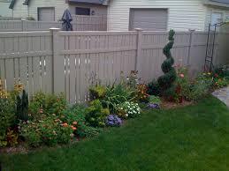 bathroom alluring flower bed fence ideas