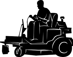 riding lawn mower black and white. lawn mower clipart black and. free mowing clipart. riding and white
