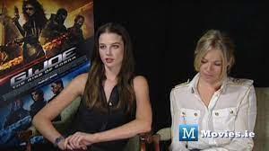 Joe the rise of cobra. Gi Joe Hot Interview With Sienna Miller Rachel Nichols Youtube