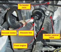diagnose a heater control valve ricks free auto repair advice 2004 expedition heater core replacement heater control valve, no heat, heat always on