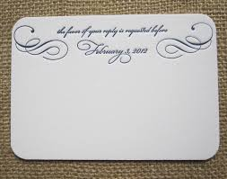 How To Reply To Wedding Rsvp Card Rsvp Card Insight Etiquette Every Last Detail