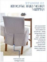 parsons chair slipcover in blue ticking kick pleat detail in back the easiest slipcover pattern ever ana white furn swg