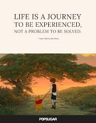 Quotes Life Journey Life is a journey to be experienced not a problem to be solved 47
