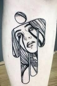 Billie eilish's tattoos are a mystery to her fans. Billie Eilish Tattoo