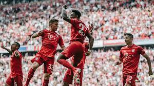 European Goal Scoring Charts Bundesliga Goal Happy Bundesliga Tops European Scoring Charts