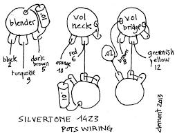 harmony jupiter wiring silvertone 1423 wiring