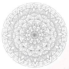 Mandala 413 Pencil Drawing 19 Bw By Lou In Canada On Deviantart