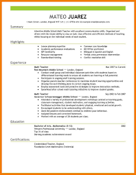 Free Blank Resume Templates For Teachers Resume For Work 20