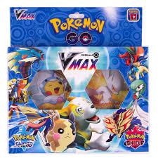 54 Cái/hộp Pokemon Go Thanh Kiếm & Lá Chắn Vmax Thẻ Sưu Tập Trading Card  Game Đồ Chơi Game Collection Cards