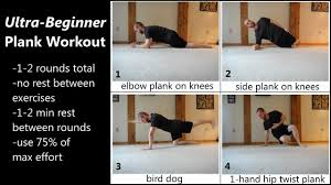 30 Days To A 5 Minute Plank Rock Hard Abs Physical