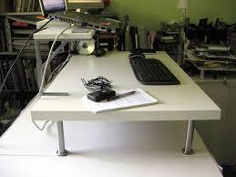 standing desk add on off a lack ikea hackers 5