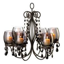 midnight elegance candle chandelier
