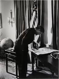 kennedy oval office. Paddle8: President John F. Kennedy In The Oval Office - Alfred Eisenstaedt Kennedy Oval Office E