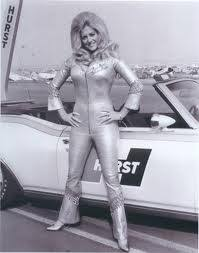 """Fresh Auto for Your: The Best Thing about NASCAR -- Linda Vaughn -- """"Miss  Hurst"""" Golden Shifter"""
