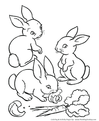 Preschool Coloring Pages Animals Farm Animals Preschool Coloring