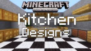 Minecraft Modern Kitchen Minecraft Xbox 360 Simple Kitchen Designs Youtube