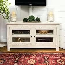 shabby chic tv cabinet inch white wash wood corner stand shabby chic tv stand diy