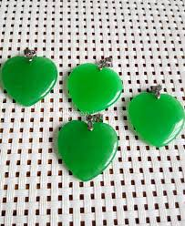 whole whole green jade heart shape silver emerald pendant necklace c2 pendants necklaces gold pendant necklaces from lsz65653958b