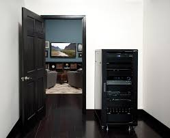 home theater component cabinet. component rack concealed in closet or adjoining room home theater cabinet n