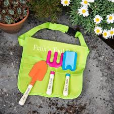 childs personalised garden tool