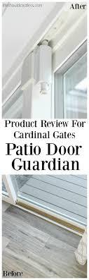 sliding glass door protection post