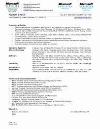Linux Administrator Resume New Sample System Administrator Resume