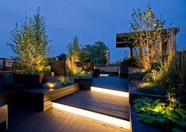 outdoor stair lighting lounge. Home Decorating Trends \u2013 Homedit Outdoor Stair Lighting Lounge