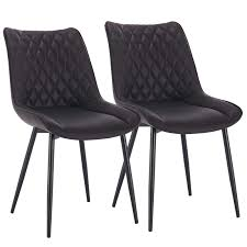 WOLTU <b>Dining Chairs</b> Set of <b>2 pcs</b> Kitchen Counter Chairs Lounge ...