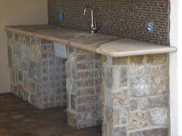 Outdoor Kitchen Countertop Masonry Services Gallery The Rock Yard