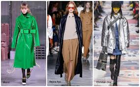 this year s winter trends are full of intergalactic futuristic out there designs made of fabrics that shimmer shine and reflect in just about all