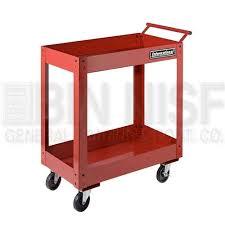 binnisf 2 tray utility cart spg