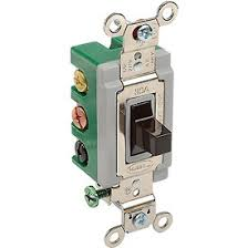 switches, sensors & chimes wall switches bryant 3025brn toggle Single Pole Double Throw Diagram bryant 3025brn toggle switch, double pole, double throw, 30a, 120 277v single pole double throw switch diagram
