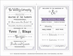 Templates For Wedding Programs 001 Template Ideas Free Downloadable Wedding Program
