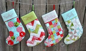Quilted Christmas Stocking Pattern Gorgeous Pattern For Quilted Christmas Stocking 48 Best Images About Quilt