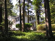 light in   mississippi where he wrote the novel and based on a casual remark from his wife estelle changed the from dark house to light in