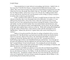 Compare And Contrast Essay Outlines Example Comparison Essay Compare Contrast Essay Outline Comparison