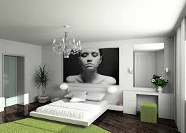 Modern Style Bedroom Furniture Bedroom Luxurious Combination Of Grey And White Concept With