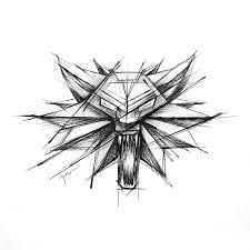 Witcher Symbol Tattoo Design By Rysaatattoo Tattoodesign Tattoo