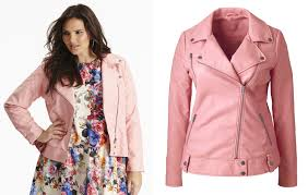 plus size faux leather biker jacket from simply be plus