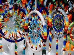 Native American Beaded Dream Catchers Awesome BEADED DREAMCATCHERS MADE BY NATIVE AMERICANS PENDLETON NATIVE