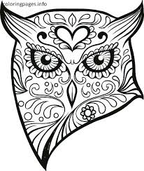 Sugar Skull Coloring Pages Luxury Day Dead Coloring Sheets Kids