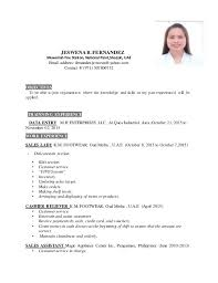 Sample Resume For Sales Associate sample objectives nursing resume sample  objectives entry level resume sample job