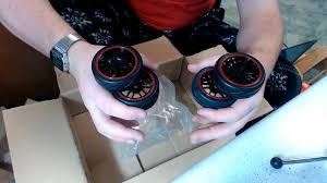 Unboxing <b>4PCS RC</b> Racing <b>Rubber Tires</b> 1/10 Car On Road Wheel ...