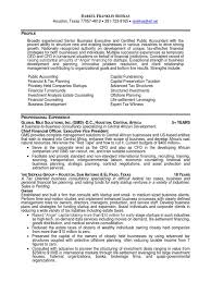 Cfo Tax Partner Cpa In Houston Tx Resume Darryl Siefkas Venture