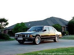 All BMW Models 1983 bmw 733i : 1983 BMW 745i E23 related infomation,specifications - WeiLi ...